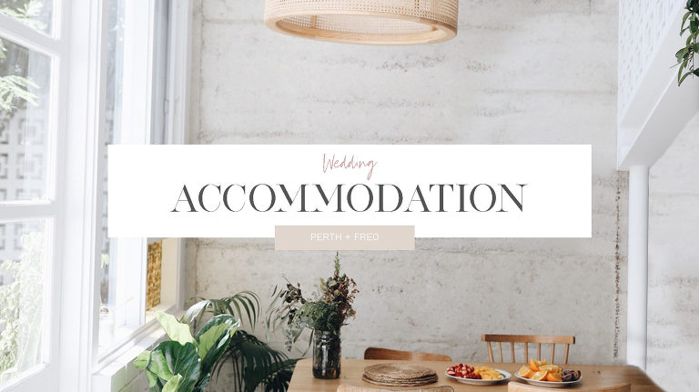 Luxury wedding accommodation Airbnb's Perth and Fremantle