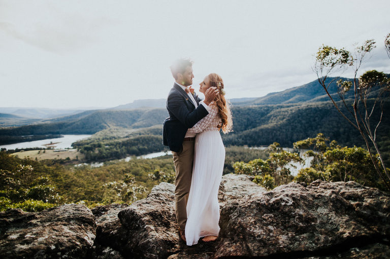 Michelle and Luke's Kangaroo Valley Wedding