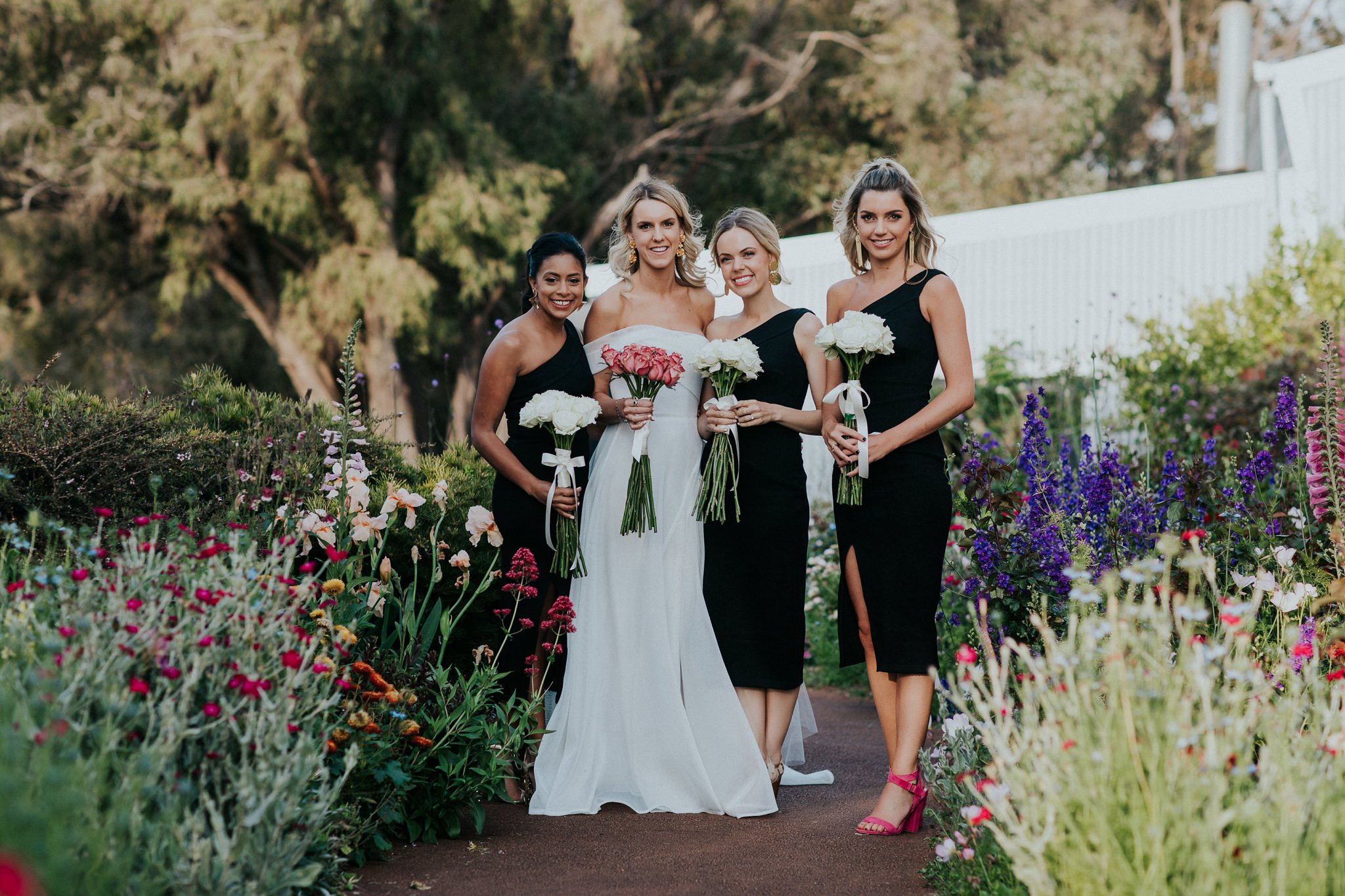 Juniper Estate wedding in Yallingup, Western Australia featuring Georgia Young Couture. Photos by Kate Drennan.
