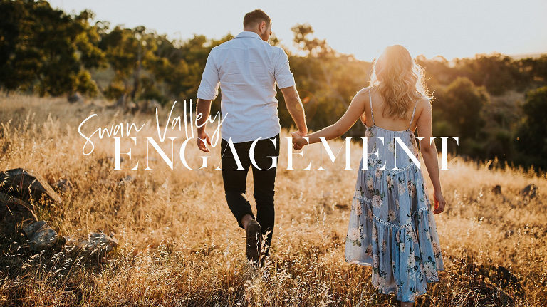 Swan Valley Engagement Photos