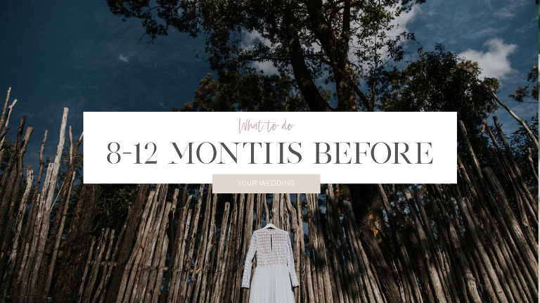 What to do 12 months before your wedding