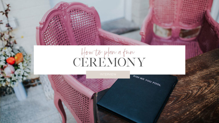 How to plan a fun not boring ceremony in Perth