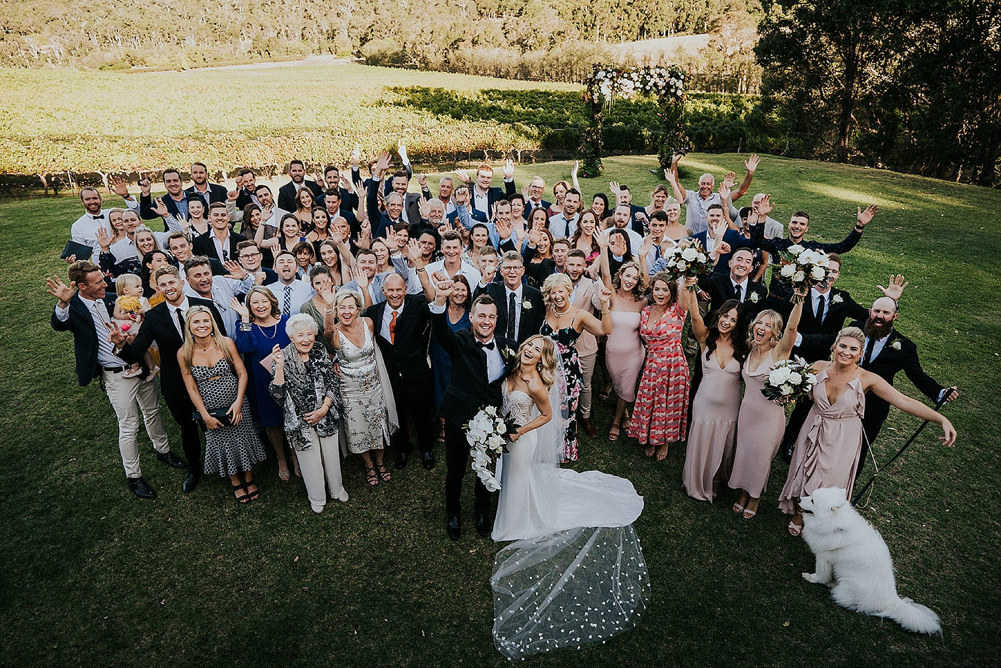 Credaro Wines Wedding venue Yallingup.