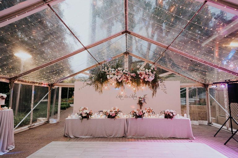Lamonts bishops house marquee wedding venue Perth